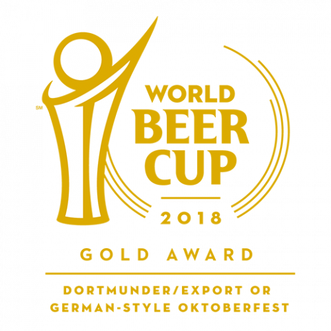 World Beer Cup 2018 Gold Award