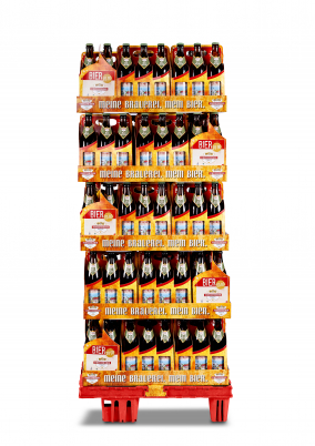 hefe-weizen display frontal