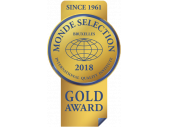 Monde Selection 2018 Gold Award